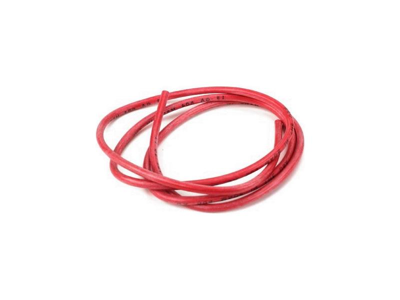 Kabel silikonový 1.6mm2 červený (10m)