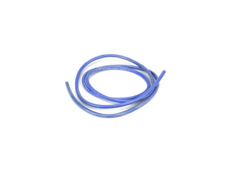 Kabel silikonový 2.0mm2 modrý (10m)