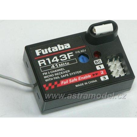 Futaba přijímač 3k R143F 27MHz FM AR01000565