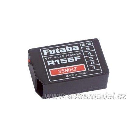 Futaba přijímač 6k R156F 35MHz FM AR01000636