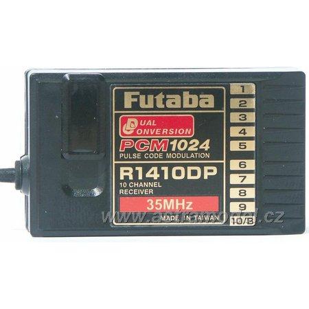 Futaba přijímač 10k R1410DP 35MHz PCM AR01000670