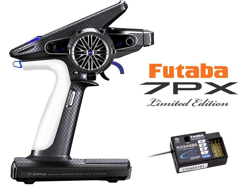 Futaba T7PX 2.4GHz Limited Edition, R334SBS