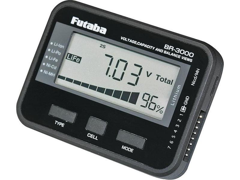 Futaba tester akumulátorů BR-3000 AR01000307