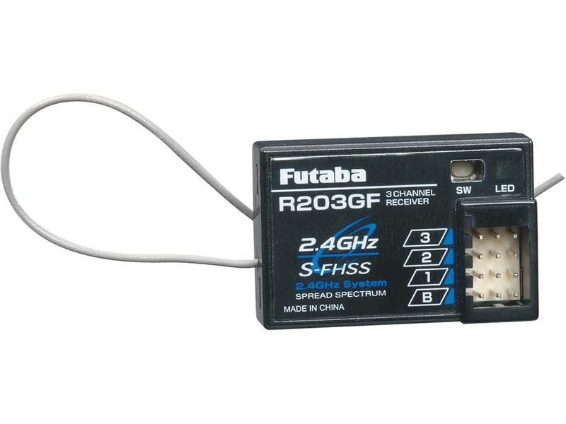 Futaba přijímač 3k R203GF 2.4GHz S-FHSS/FHSS AR01000500