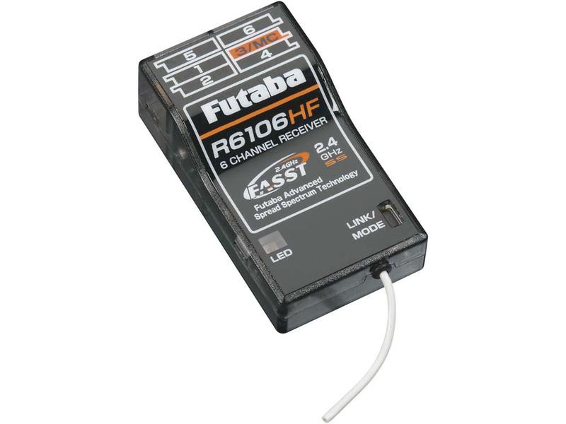 Futaba přijímač 6k R6106HF 2.4GHz FASST HS AR01000655