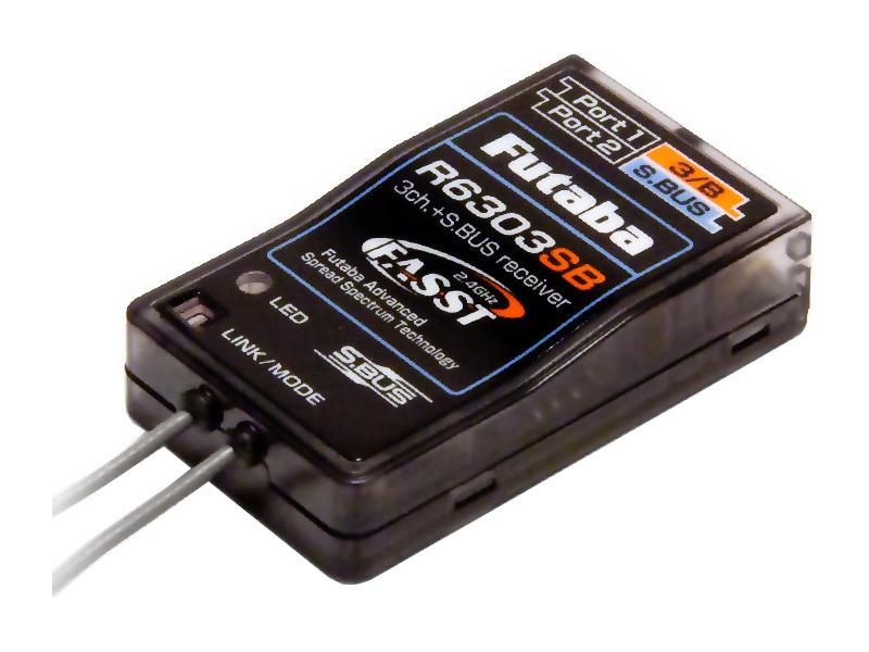 Futaba přijímač 3/18k R6303SB 2.4GHz FASST S.BUS AR01000659
