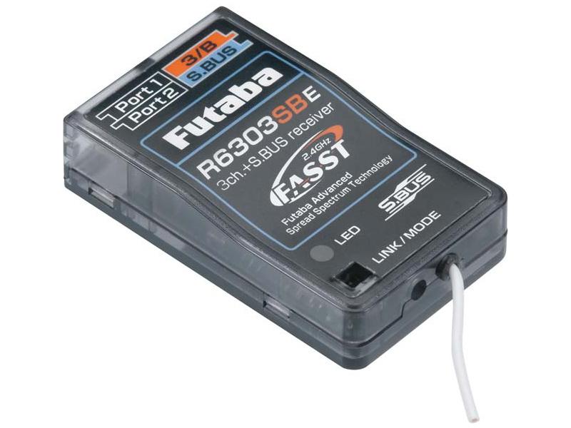 Futaba přijímač 3/18k R6303SBE 2.4GHz FASST S.BUS AR01000660