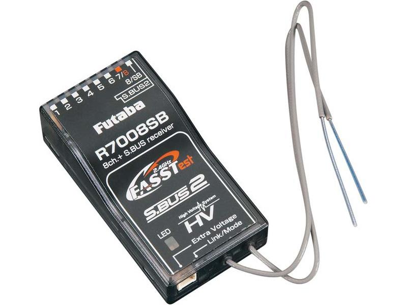 Futaba přijímač 8/18k R7008SB 2.4GHz FASSTest S.BUS/2 AR01000661