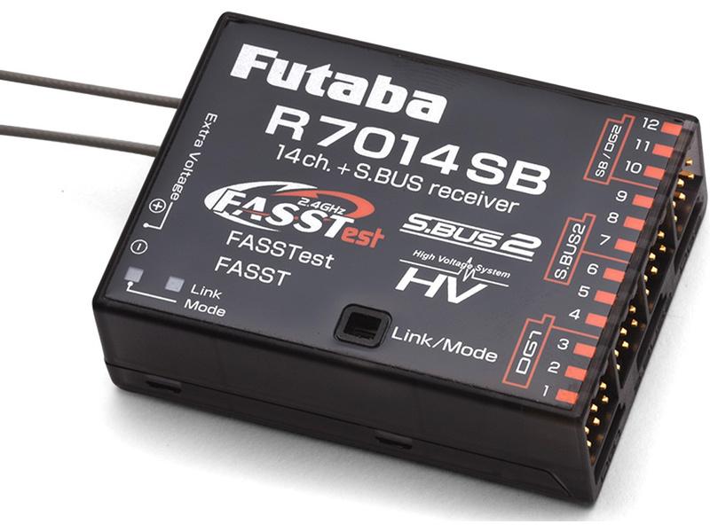 Futaba přijímač 14/18k R7014SB 2,4GHz FASSTest/FASST