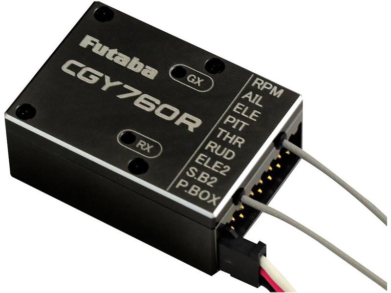 Futaba přijímač CGY760R 2.4GHz FASSTest/T-FHSS