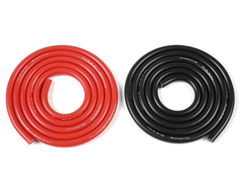 Kabel se silikonovou izolací Superflex 5.5mm2 10AWG (1+1m)