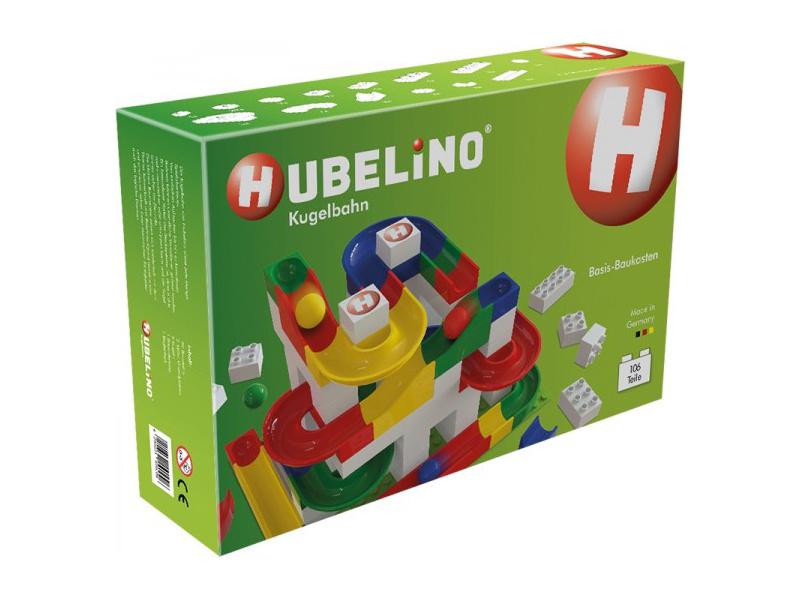HUBELINO Kuličková dráha - set Basic 106 dílků
