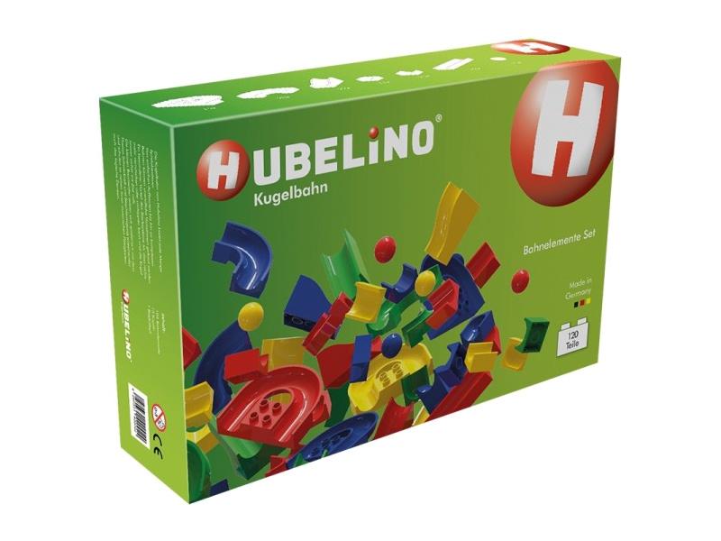 HUBELINO Kuličková dráha - set bez kostek 120 dílků