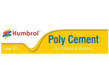 Humbrol Poly Cement lepidlo na plasty 24ml / AF-AE4422