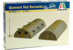 Italeri diorama - quonset Hut Barrack (1:72)