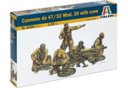 Italeri Cannone da 47/32 Mod.39 with crew (1:35)
