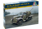Italeri Sd.Kfz. 3b MAULTIER with Flak 38 (1:35)