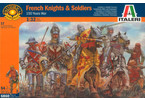 Italeri figurky - 100 YEARS WAR-FRENCH KNIGHTS & S (1:32)