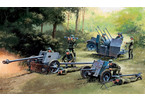 Italeri GERMAN GUNS SET: PAK35-PAK40-FLAK38 (1:72)