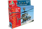 Italeri Model Set OH 58D Kiowa Warrior (1:72)