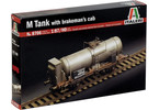 Italeri M TANK CAR WITH BRAKEMANS CAB (1:87 / HO)