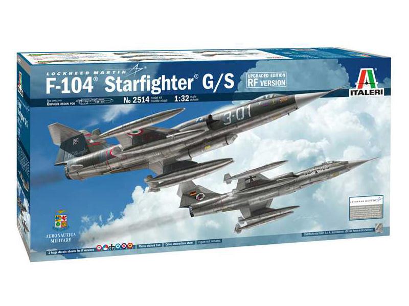 Italeri Locheed F-104 Starfighter G/S RF (1:32)