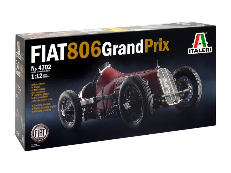 Italeri auto 4702 - FIAT 806 GRAND PRIX (1:12)