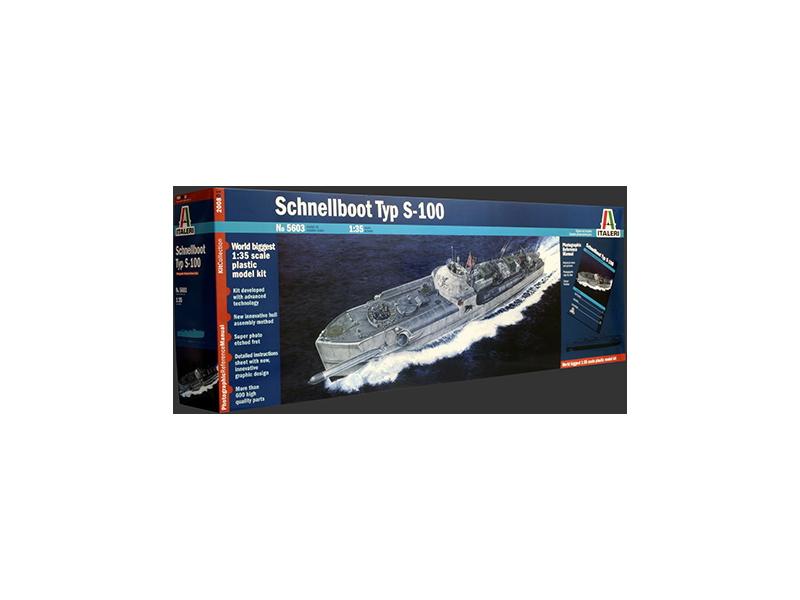 Italeri SCHNELLBOOT TYP S-100 (1:35)