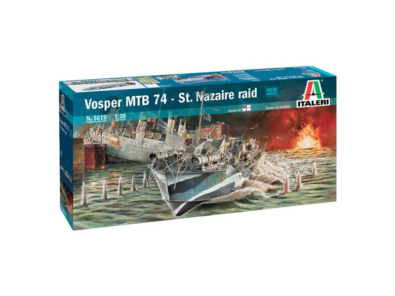 "Italeri Vosper MTB 74 ""St. Nazaire Raid"" (1:35)"