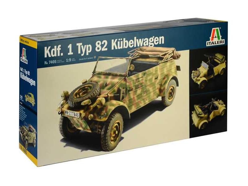 Italeri Kdf.1 Typ 82 Kübelwagen (1:9)