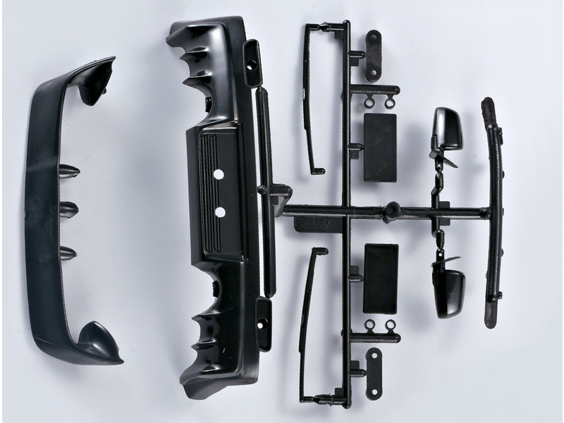Killerbody Lancer EVO X 1:10 - plastové díly KB48010