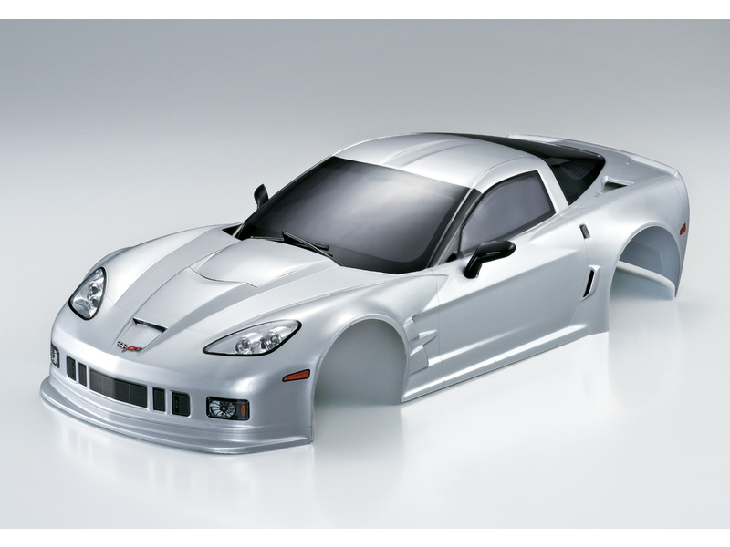 Killerbody karosérie 1:10 Corvette GT2 stříbrná KB48014