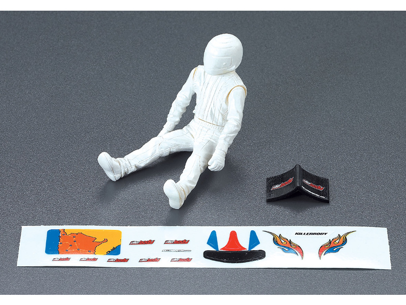 Killerbody SCT 1:10 - figurka řidiče KB48050