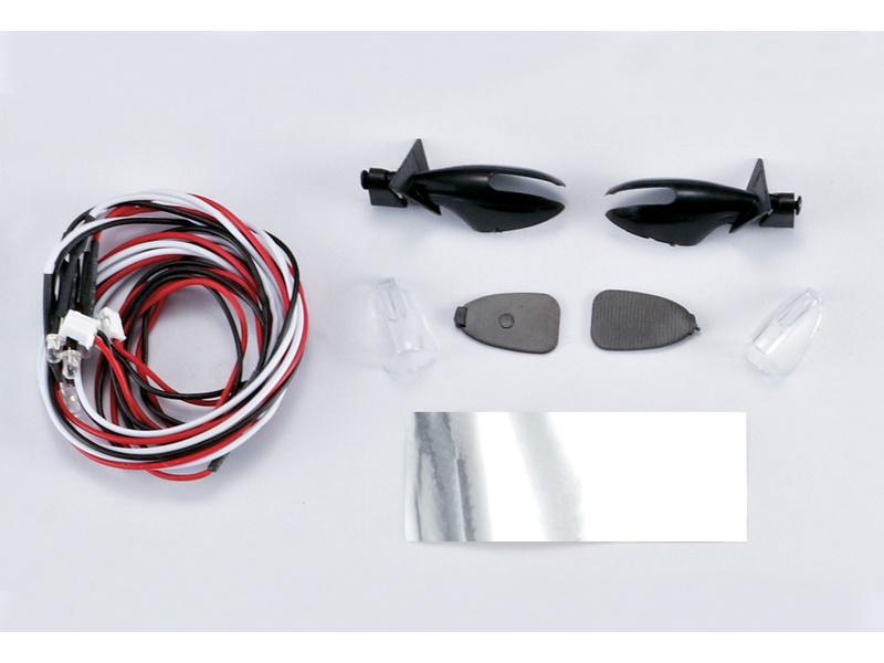 Killerbody zpětná zrcátka Touring s LED osvětlením KB48060