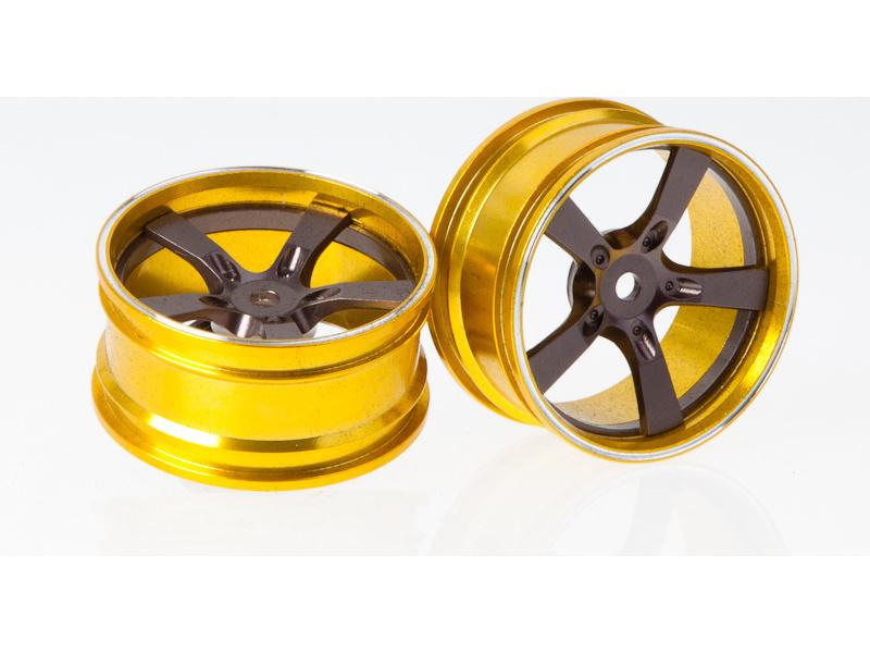 Killerbody Camaro 2011 1:10 - hliníkové disky kol šedé (2) KB48079G