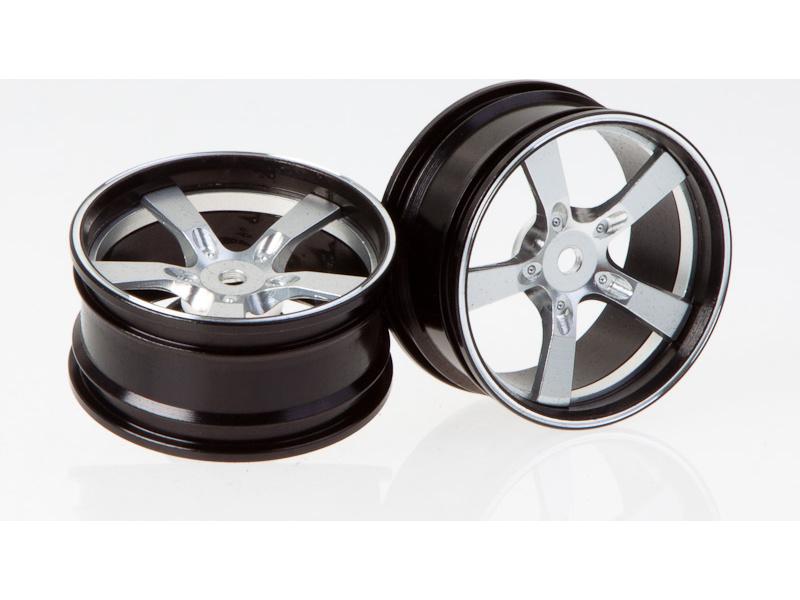 Killerbody Camaro 2011 1:10 - hliníkové disky kol stříbrné (2) KB48079S