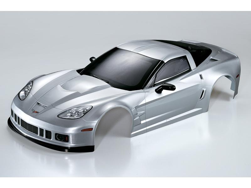 Killerbody karosérie 1:7 Corvette GT2 stříbrná KB48085