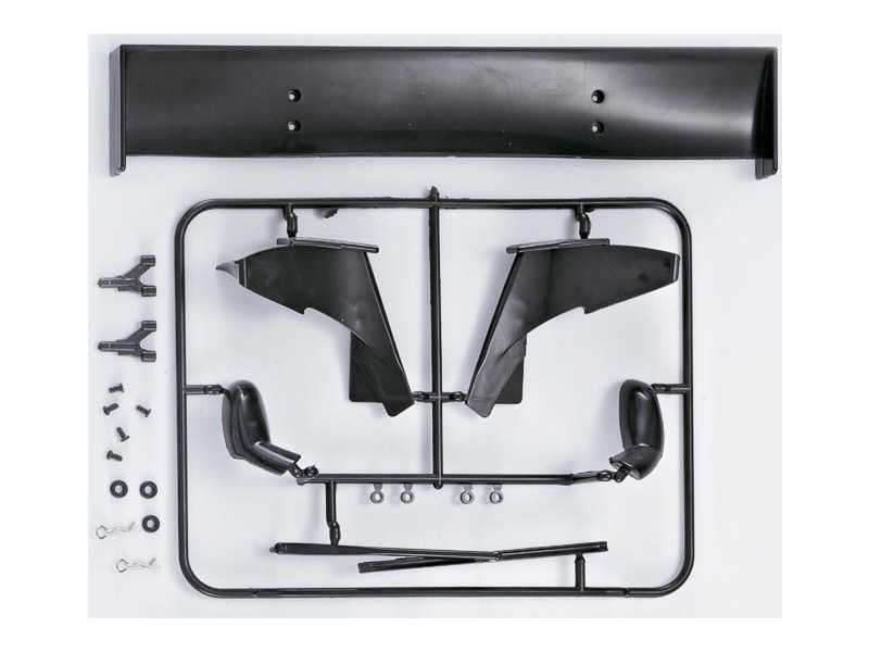 Killerbody Corvette GT2 1:7 - plastové díly KB48090