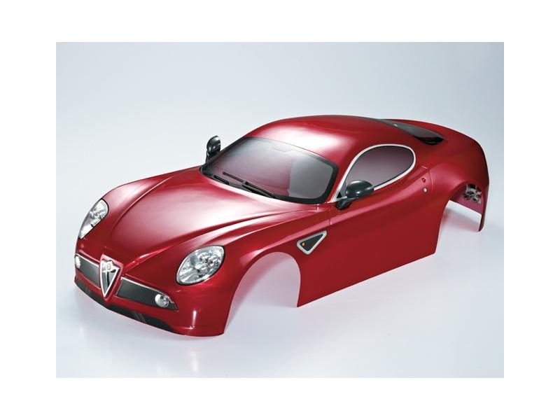 Killerbody karosérie 1:7 Alfa Romeo 8C vínová KB48092