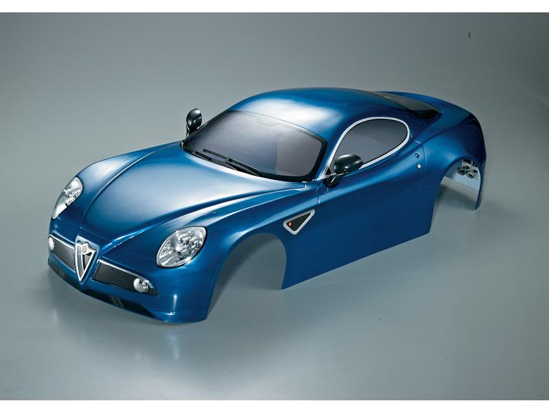 Killerbody karosérie 1:7 Alfa Romeo 8C modrá KB48093