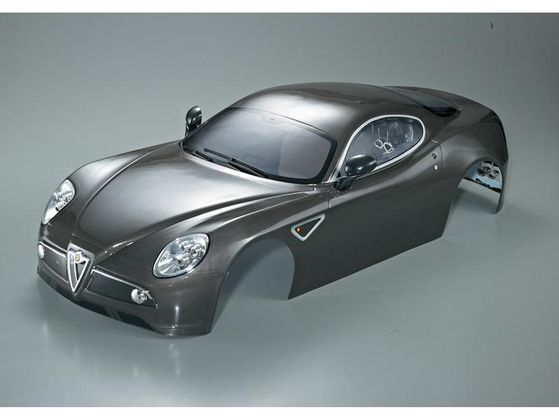 Killerbody karosérie 1:7 Alfa Romeo 8C šedá KB48095