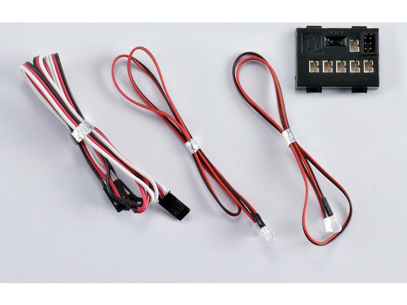 Killerbody světelná sada 1:10 4 LED s řídící jednotkou KB48099