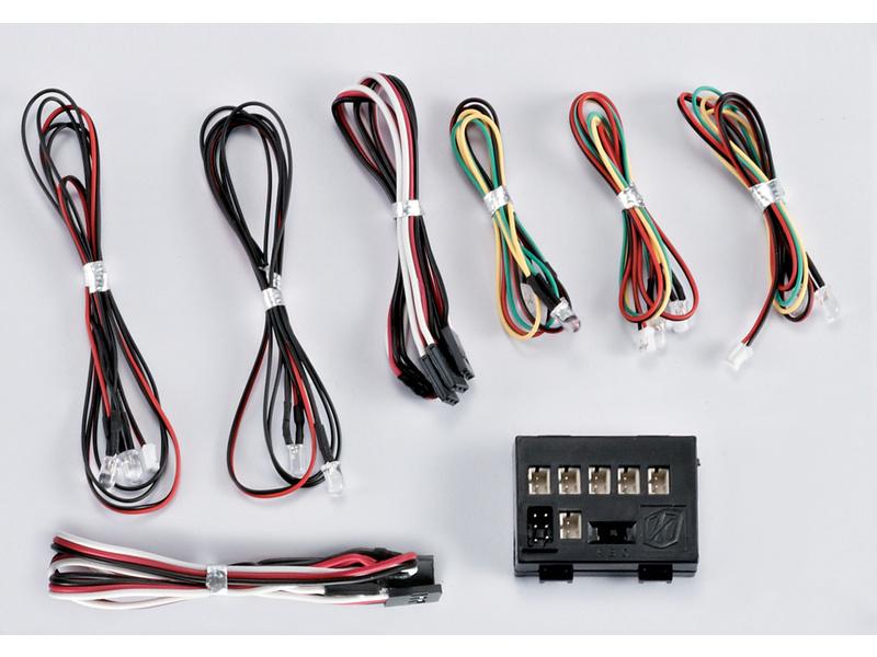 Killerbody světelná sada 1:10 10 LED s řídící jednotkou KB48101