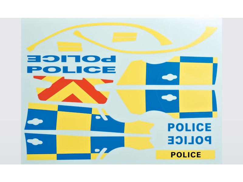 Killerbody samolepka Policie 1:10 KB48127