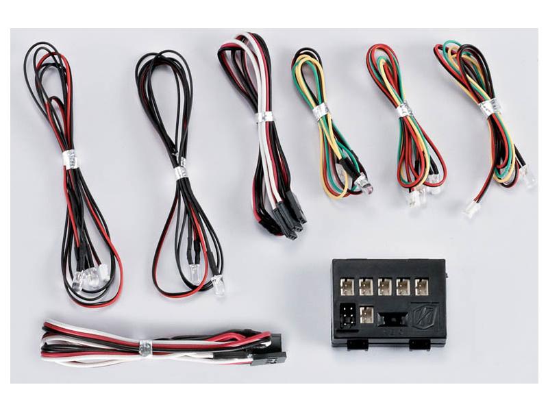Killerbody světelná sada 1:7 10 LED s řídicí jednotkou KB48198