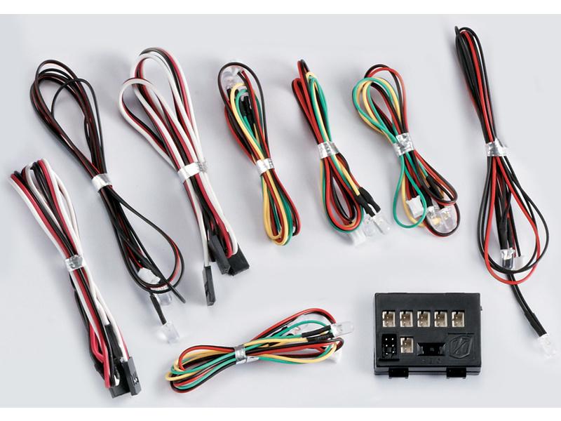 Killerbody světelná sada 1:7 12 LED s řídicí jednotkou KB48200