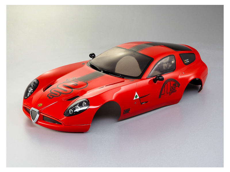 Killerbody karosérie 1:10 Alfa Romeo TZ3 Corsa červená, KB48249