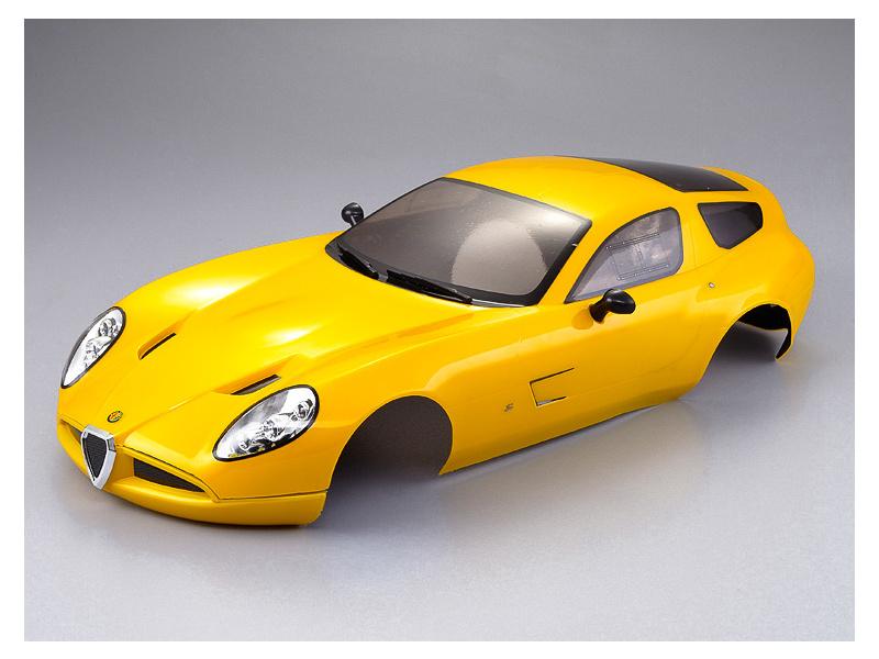 Killerbody karosérie 1:10 Alfa Romeo TZ3 Corsa žlutá, KB48299