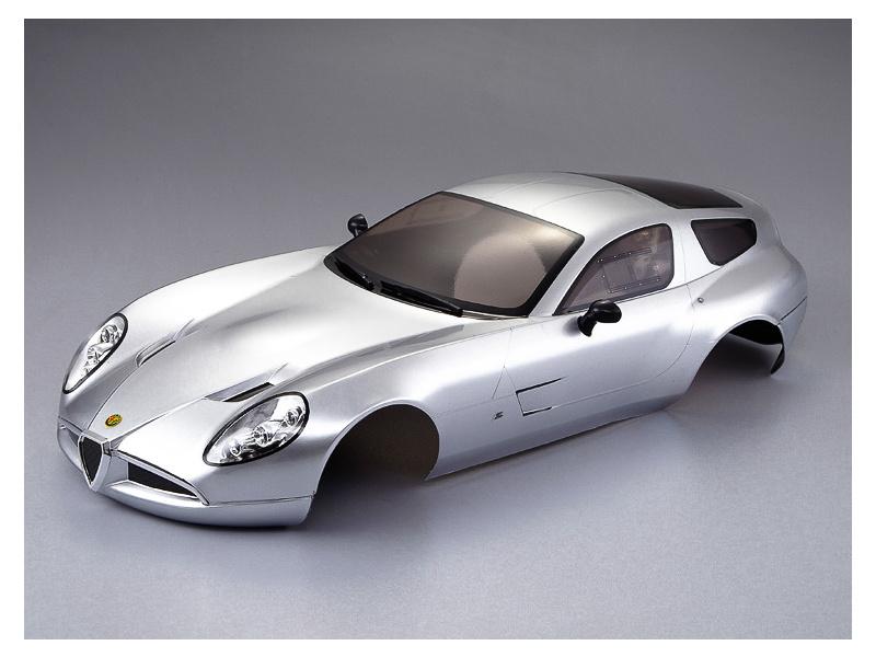Killerbody karosérie 1:10 Alfa Romeo TZ3 Corsa stříbrná, KB48301