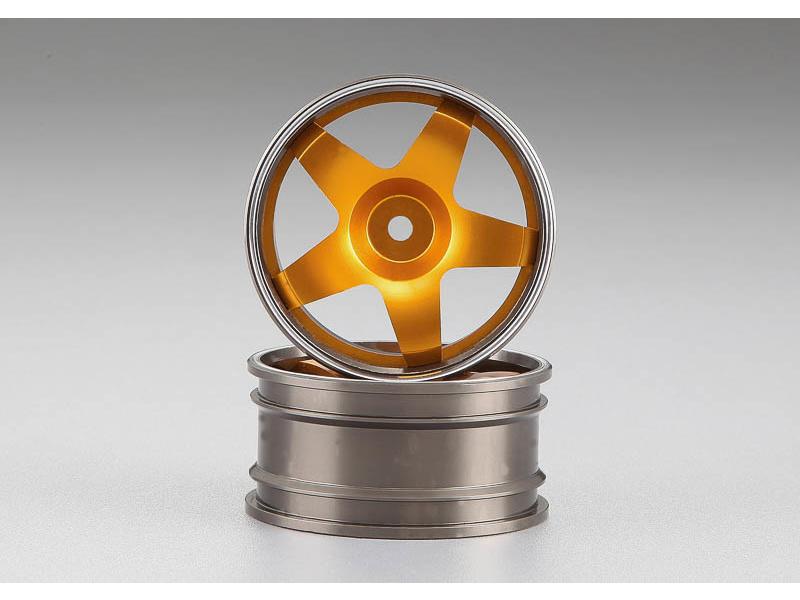 Killerbody Alfa Romeo 75 Turbo 1:10 - hliníkové disky kol zlaté KB48480GLD